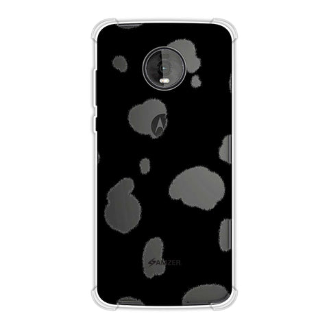 Dalmatian - White Spots Soft Flex Tpu Case For Motorola Moto Z4