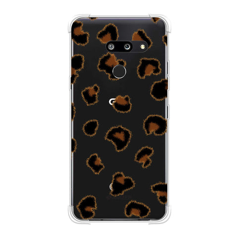 Leopard - Brushed Spots - Small Soft Flex Tpu Case For LG G8 ThinQ