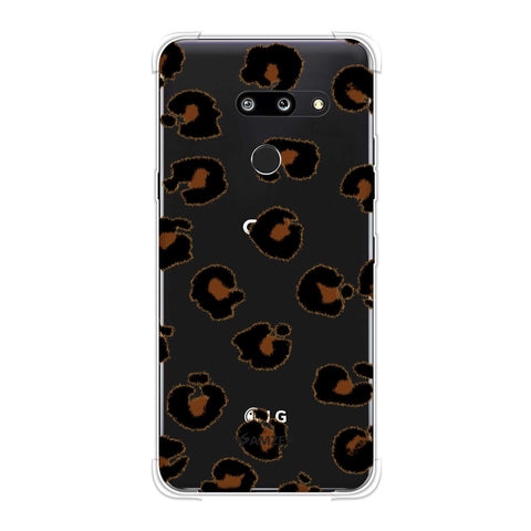 Leopard - Brushed Engineered Spots Soft Flex Tpu Case For LG G8 ThinQ