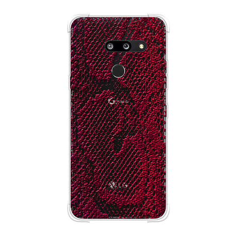 Snakes - Rust Brown Skin Soft Flex Tpu Case For LG G8 ThinQ