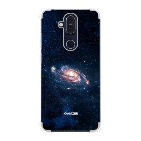 Andromeda Galaxy Soft Flex Tpu Case For Nokia 8.1