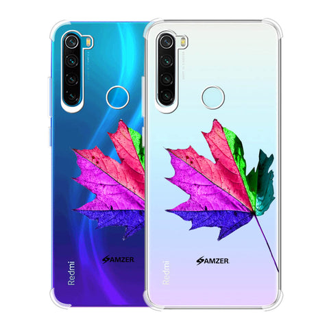 Autumn Leaf Soft Flex Tpu Case For Redmi Note 8
