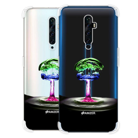 Colorful Droplet Soft Flex Tpu Case For Oppo Reno2 Z