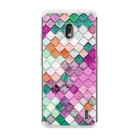 Diamond Lattice Soft Flex Tpu Case For Nokia 2.2