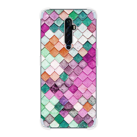 Diamond Lattice Soft Flex Tpu Case For Oppo Reno2 Z