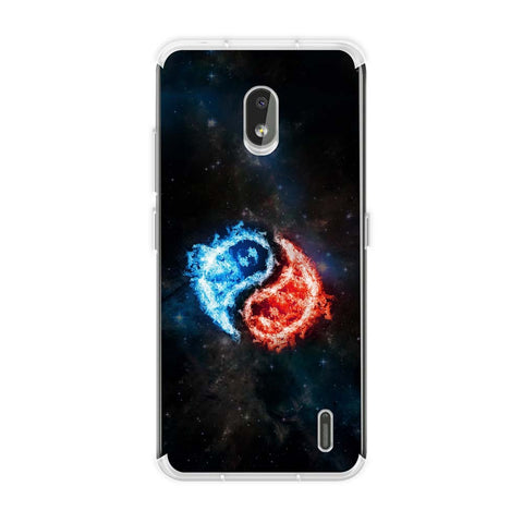 Element - Fire & Water Soft Flex Tpu Case For Nokia 2.2