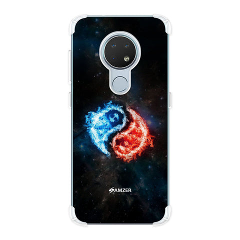 Element - Fire & Water Soft Flex Tpu Case For Nokia 6.2