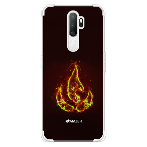 Element - Fire Soft Flex Tpu Case For Oppo A5 2020