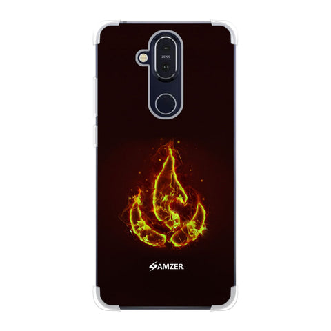Element - Fire Soft Flex Tpu Case For Nokia 8.1