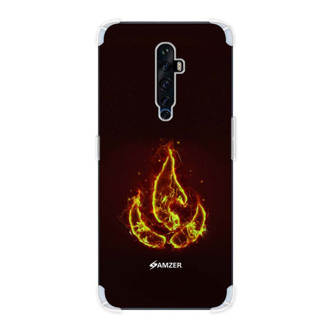 Element - Fire Soft Flex Tpu Case For Oppo Reno2 Z