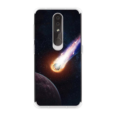 Shooting Star Soft Flex Tpu Case For Nokia 4.2