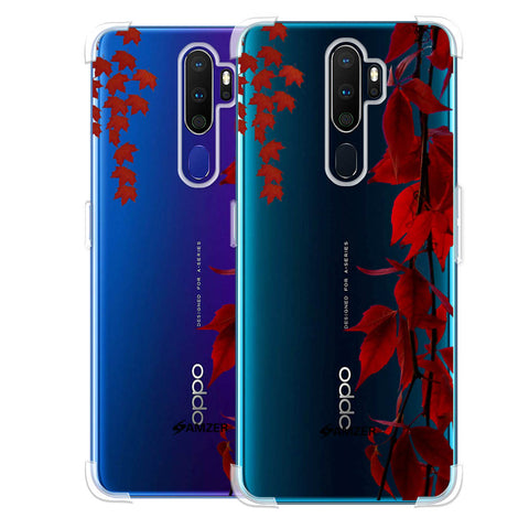 Autumn Leaves Soft Flex Tpu Case For Oppo A9 2020