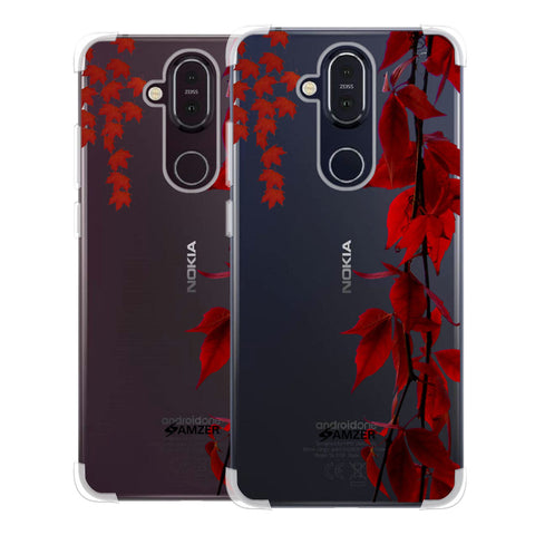 Autumn Leaves Soft Flex Tpu Case For Nokia 8.1