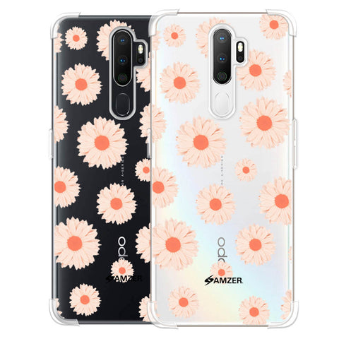 Gerbera Daisies Soft Flex Tpu Case For Oppo A5 2020