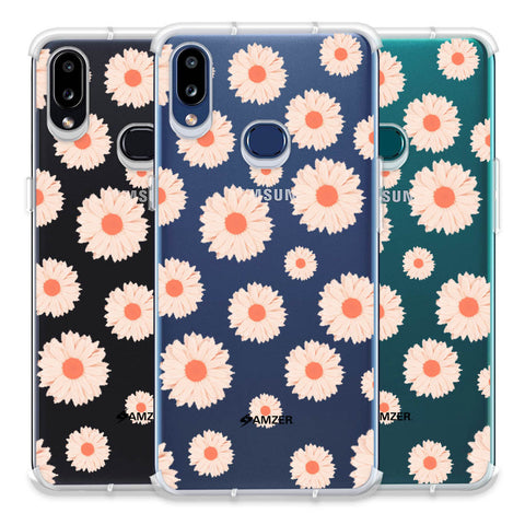 Gerbera Daisies Soft Flex Tpu Case For Samsung Galaxy A10s