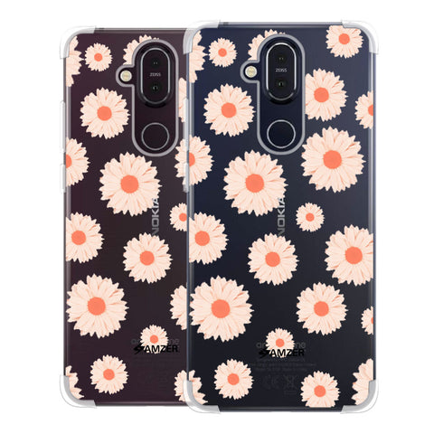 Gerbera Daisies Soft Flex Tpu Case For Nokia 8.1