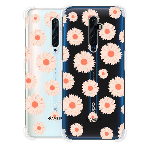 Gerbera Daisies Soft Flex Tpu Case For Oppo Reno2 Z