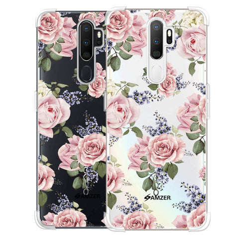 Garden roses Soft Flex Tpu Case For Oppo A5 2020