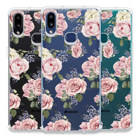 Garden roses Soft Flex Tpu Case For Samsung Galaxy A10s