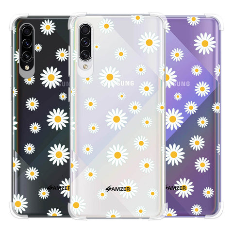 White Daisies Soft Flex Tpu Case For Samsung Galaxy A50s