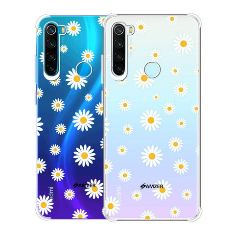 White Daisies Soft Flex Tpu Case For Redmi Note 8