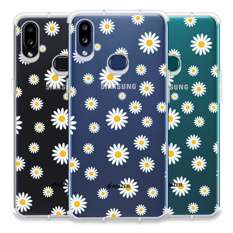 White Daisies Soft Flex Tpu Case For Samsung Galaxy A10s