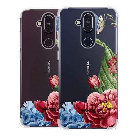 Tulips Soft Flex Tpu Case For Nokia 8.1