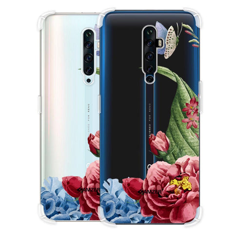 Tulips Soft Flex Tpu Case For Oppo Reno2 Z
