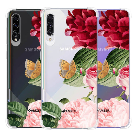 Rose Blossoms Soft Flex Tpu Case For Samsung Galaxy A50s