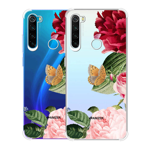 Rose Blossoms Soft Flex Tpu Case For Redmi Note 8