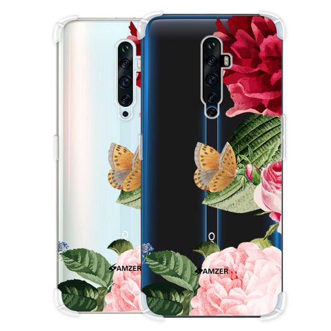 Rose Blossoms Soft Flex Tpu Case For Oppo Reno2 Z