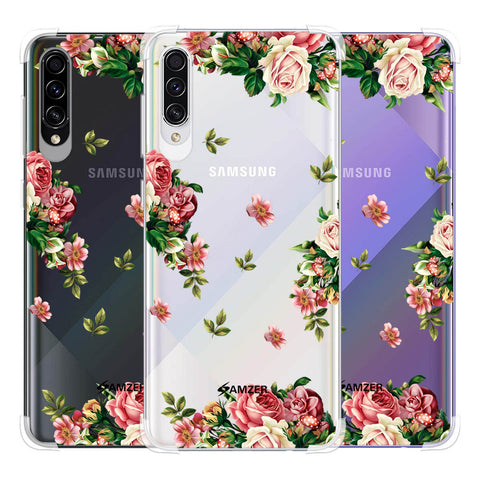 Romantic Antique Pink Soft Flex Tpu Case For Samsung Galaxy A50s
