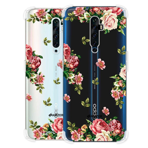 Romantic Antique Pink Soft Flex Tpu Case For Oppo Reno2 Z