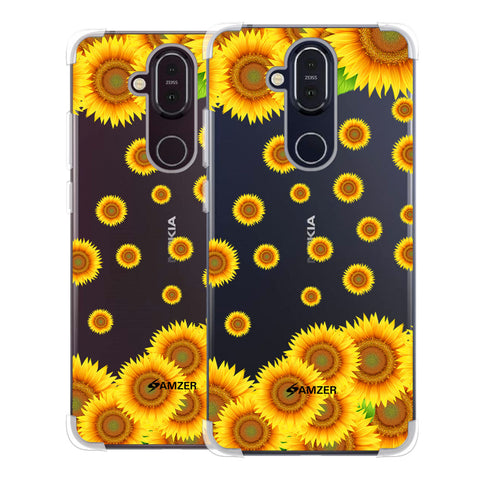 Sunflower Soft Flex Tpu Case For Nokia 8.1
