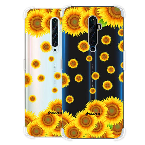 Sunflower Soft Flex Tpu Case For Oppo Reno2 Z