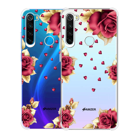 Rose & Petals Soft Flex Tpu Case For Redmi Note 8