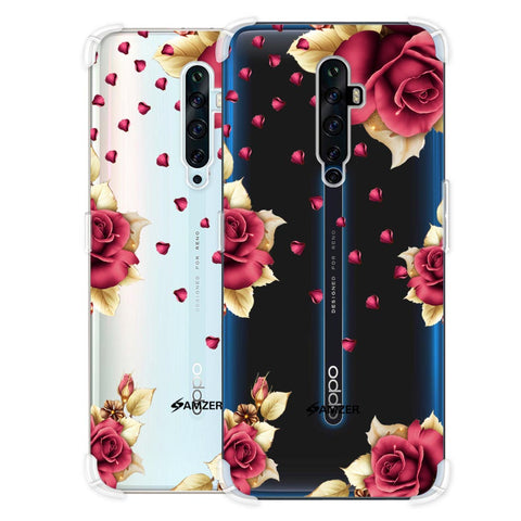 Rose & Petals Soft Flex Tpu Case For Oppo Reno2 Z