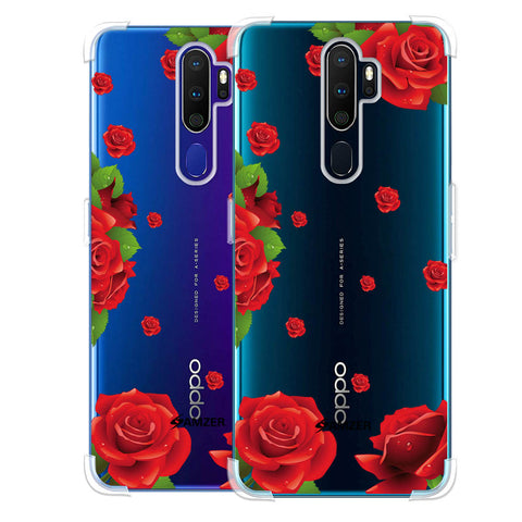Valentines Rose Soft Flex Tpu Case For Oppo A9 2020