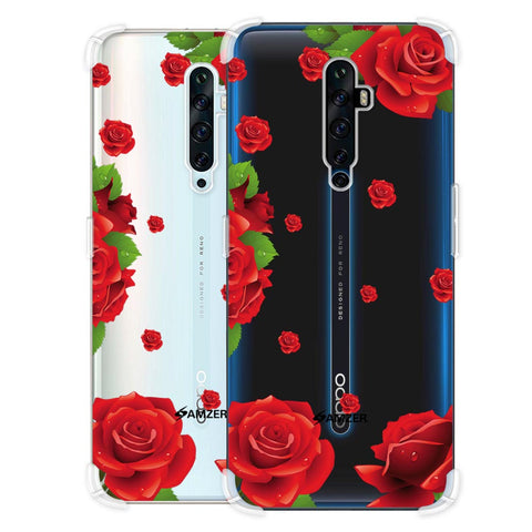 Valentines Rose Soft Flex Tpu Case For Oppo Reno2 Z