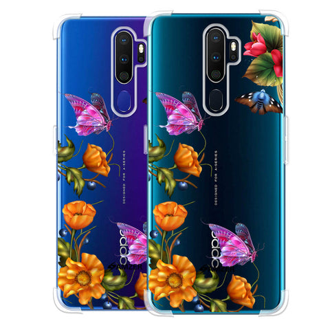 Butterfly Kingdom Soft Flex Tpu Case For Oppo A9 2020