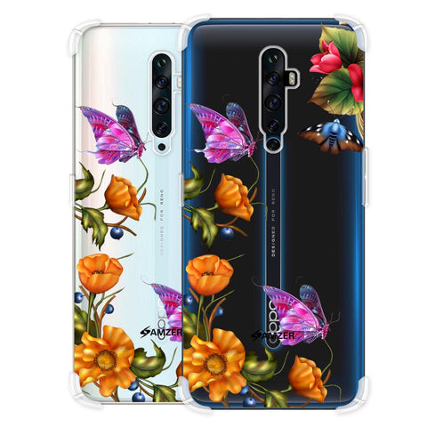 Butterfly Kingdom Soft Flex Tpu Case For Oppo Reno2 Z