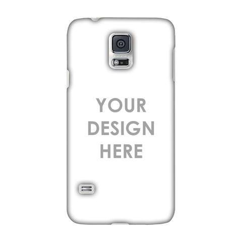 Custom Design It Yourself Slim Hard Shell Case For Samsung Galaxy S5