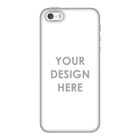 Custom Design It Yourself Slim Hard Shell Case For Apple iPhone 5-5S