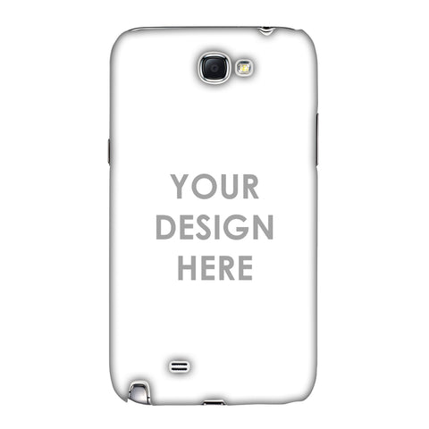 Custom Design It Yourself Slim Hard Shell Case For Samsung Galaxy Note 2