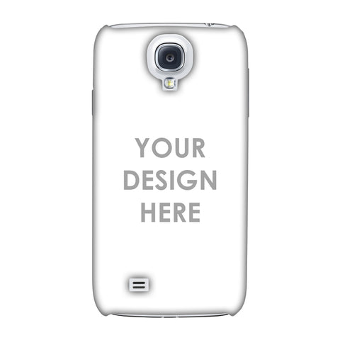 Custom Design It Yourself Slim Hard Shell Case For Samsung GALAXY S4