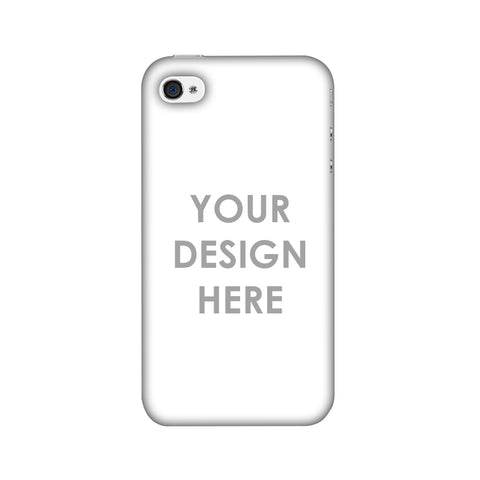 Custom Design It Yourself Slim Hard Shell Case For Apple iPhone 4-4S