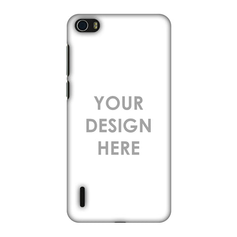 Custom Design It Yourself Slim Hard Shell Case For Huawei Honor 6