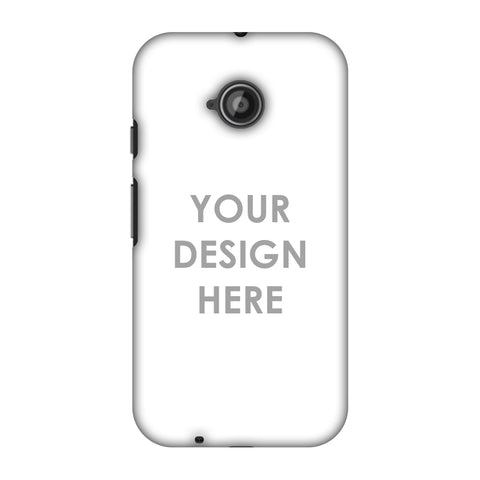 Custom Design It Yourself Slim Hard Shell Case For Motorola Moto E 2nd Gen