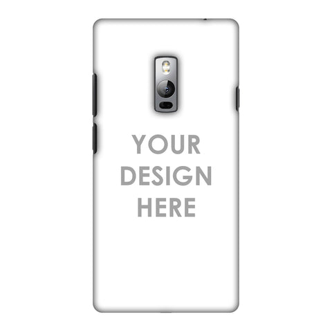 Custom Design It Yourself Slim Hard Shell Case For OnePlus 2
