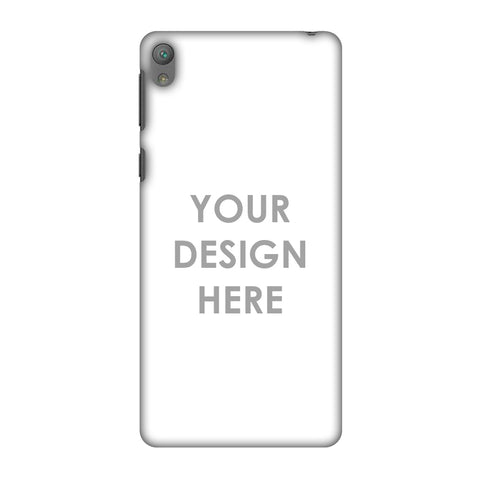 Custom Design It Yourself Slim Hard Shell Case For Sony Xperia E5